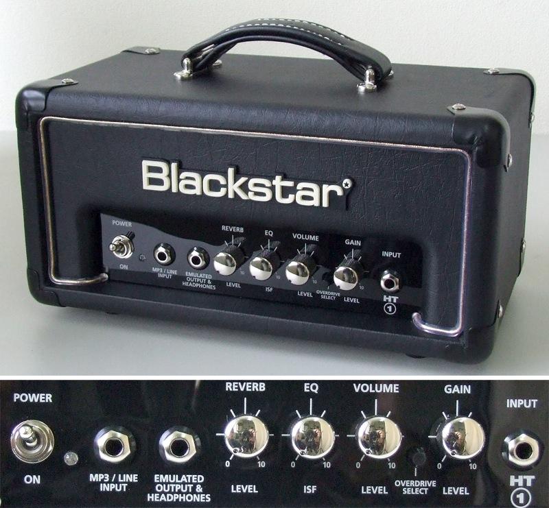 BLACKSTAR HT-1RH Head 1Wオールチューブアンプヘッド