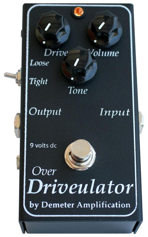 Demeter DRV-1 Overdrivulator ギターエフェクター
