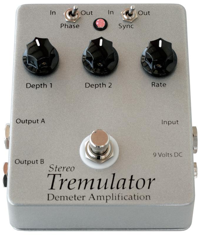 Demeter STRM-1 Stereo Tremulator ギターエフェクター