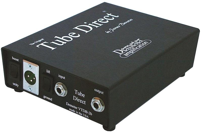 Demeter VTDB-2B Tube Direct Box チューブDI