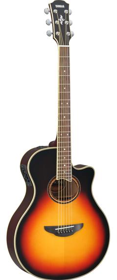 YAMAHA APX700II VS エレクトリックアコースティックギター