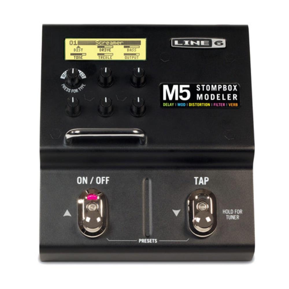 LINE6 M5 STOMPBOX MODELER ギターエフェクター