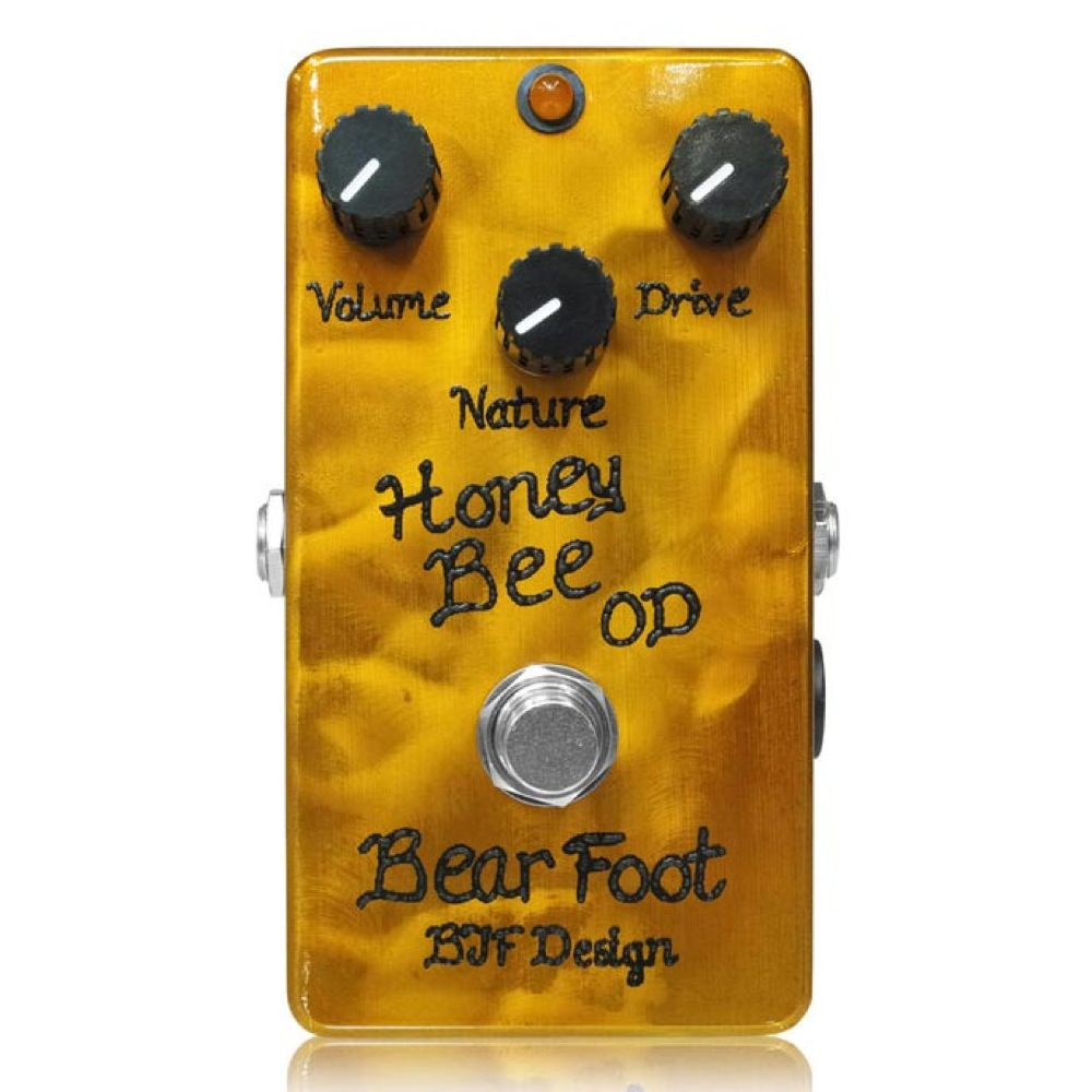 BearFoot Guitar Effects Honey Bee OD ギターエフェクター
