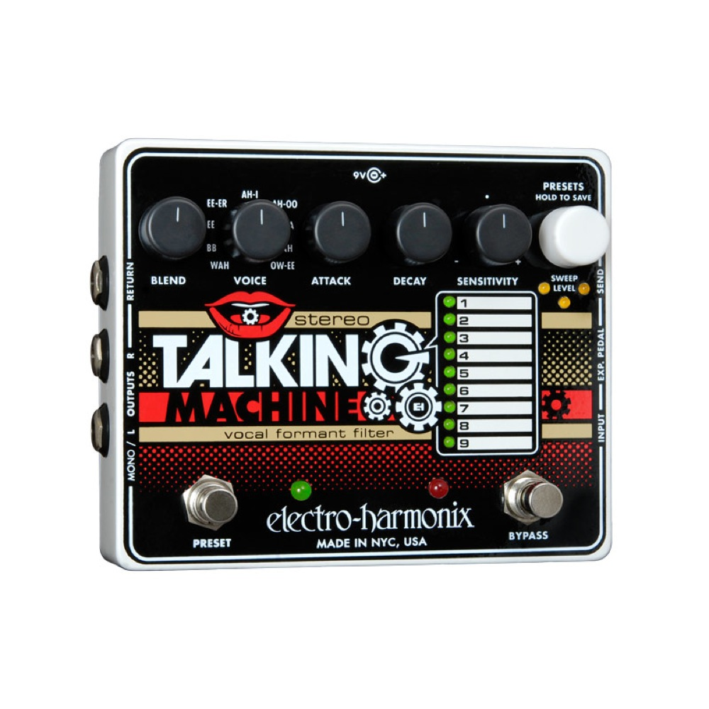 ELECTRO-HARMONIX Stereo Talking Machine ギターエフェクター 正規輸入品