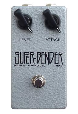 Manlay Sound Super Bender Standard Logo ファズ