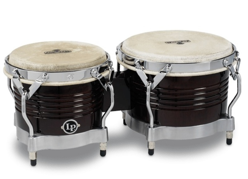 LP M201 Matador Wood Bongos Dark Brown ウッドボンゴ