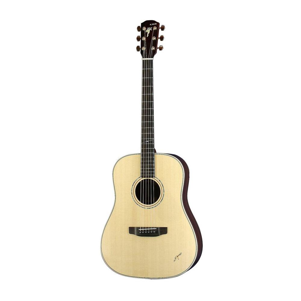 K.YAIRI LO-120 N アコースティックギター ハードケース付き
