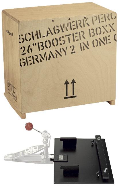 Schlagwerk Percussion SR-BCCOM ブースターコンボ ベースカホン