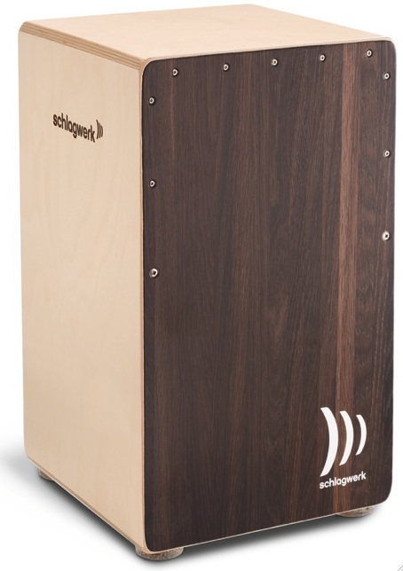 【カホンバッグ付き】Schlagwerk Percussion SR-CP408 2inOne Cajon Dark Oak カホン