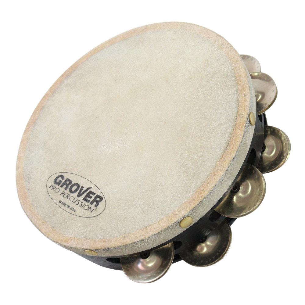 Grover Pro Percussion GV-T2GS-8 プロジェクションプラス タンバリン