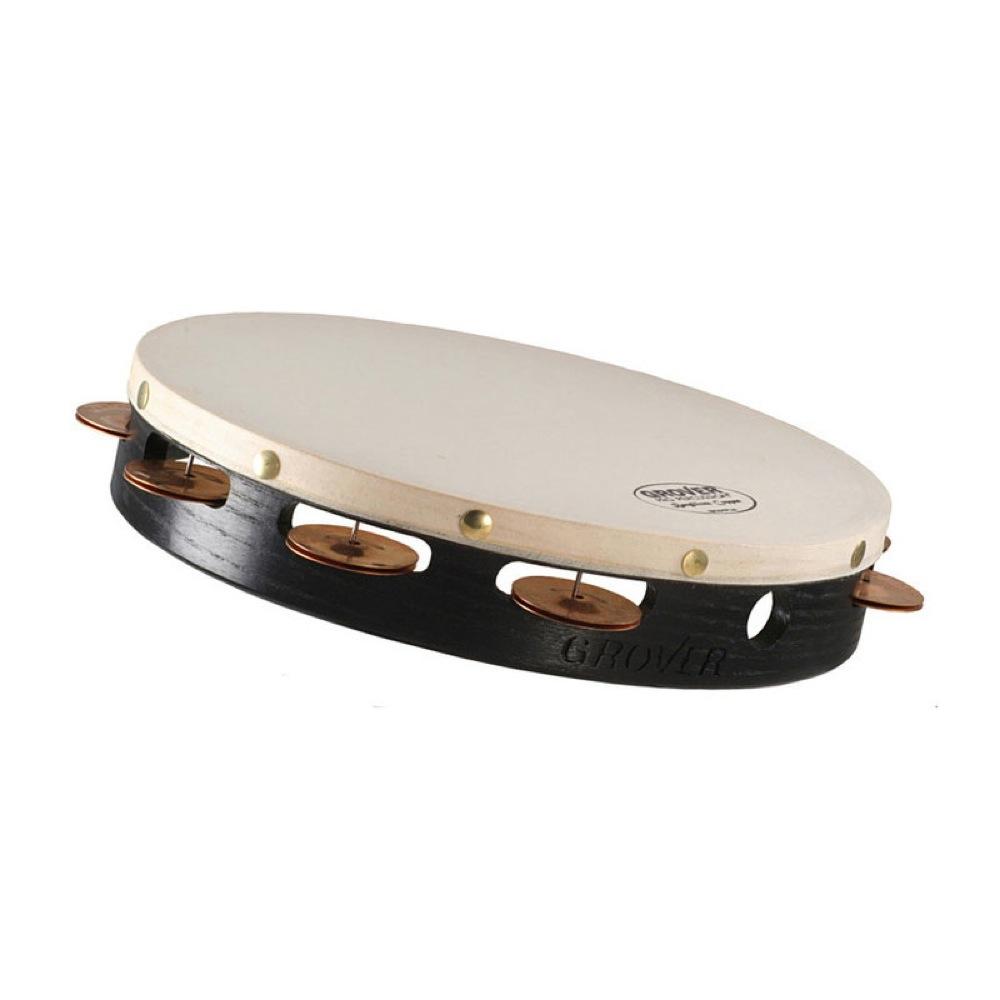 Grover Pro Percussion GV-T1BC プロジェクションプラス タンバリン