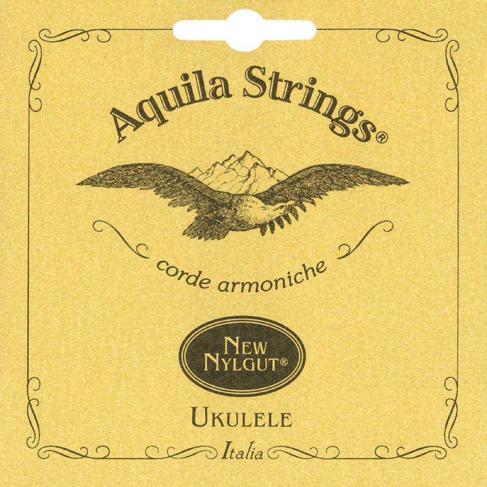 アクイーラ テナーウクレレ用 ナイルガット弦 Low-G 再再販 AQUILA 15U AQ-TLW 世界の人気ブランド ウクレレ弦 テナー用 Nylgut