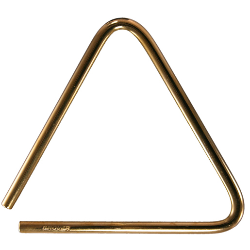Grover Pro Percussion GV-TRB6S Pro Bronze Triangles トライアングル