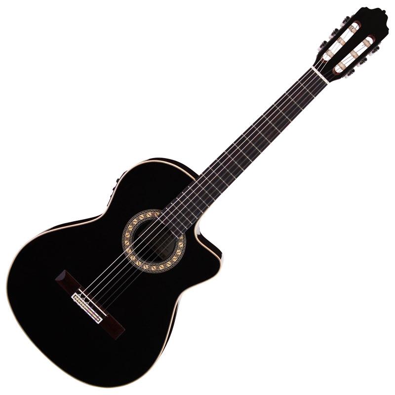 Manuel Adalid Gamberra ハードケース付き エレクトリッククラシックギター