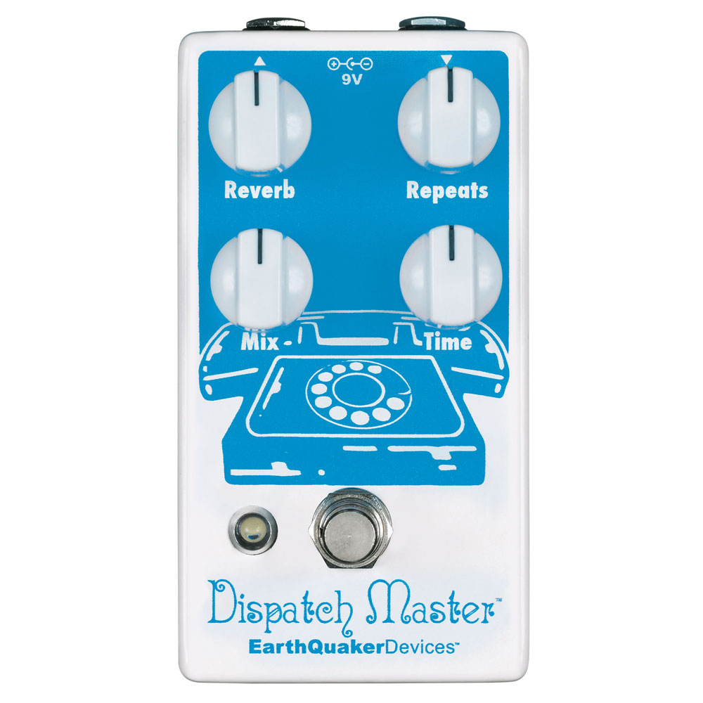 EarthQuaker Devices Dispatch Master デジタルディレイ&リバーブ ギターエフェクター