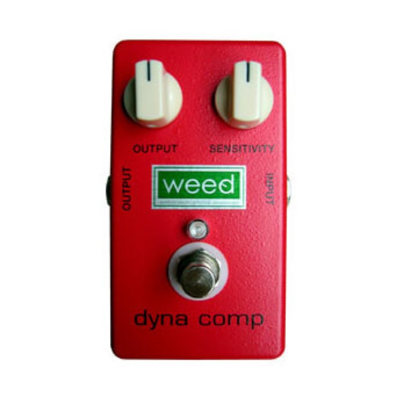 WEED dynacomp mod Hi-Fi ギターエフェクター