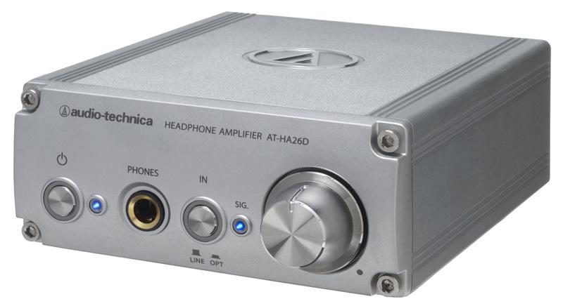 AUDIO-TECHNICA AT-HA26D D/Aコンバーター内蔵ヘッドホンアンプ