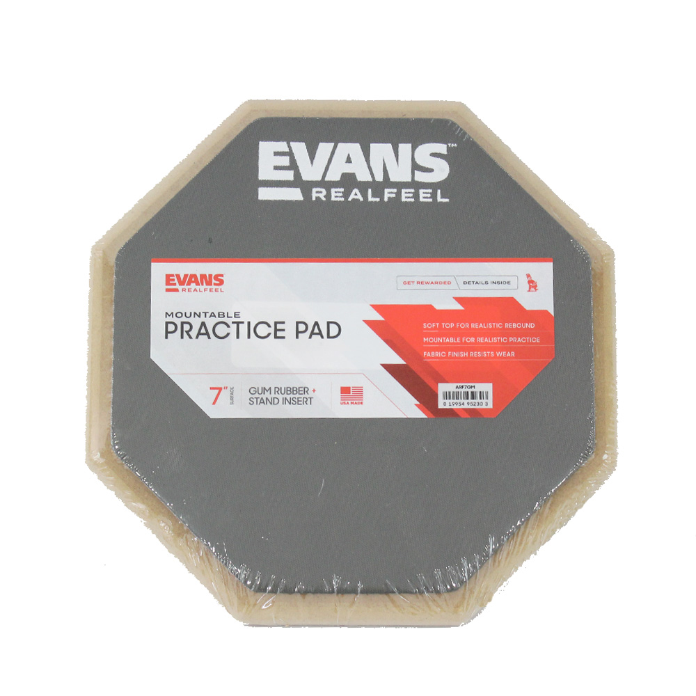 "Evans ARF7GM Apprentice 7/"" Mountable Practice Pad"