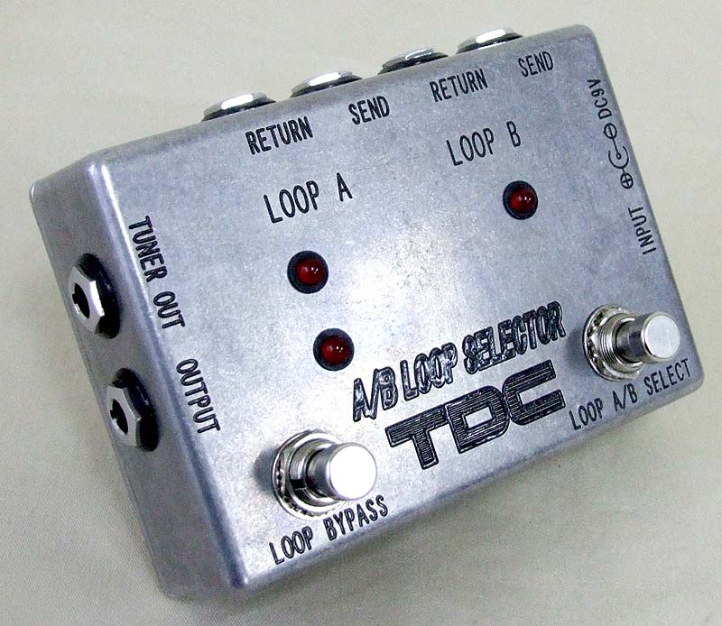 TDC A/B LOOP SELECTOR ループセレクター TUNER OUT JACK付