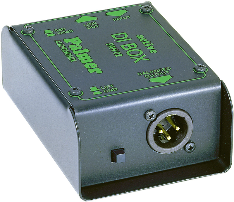 PALMER PAN02 Active DI アクティブダイレクトボックス