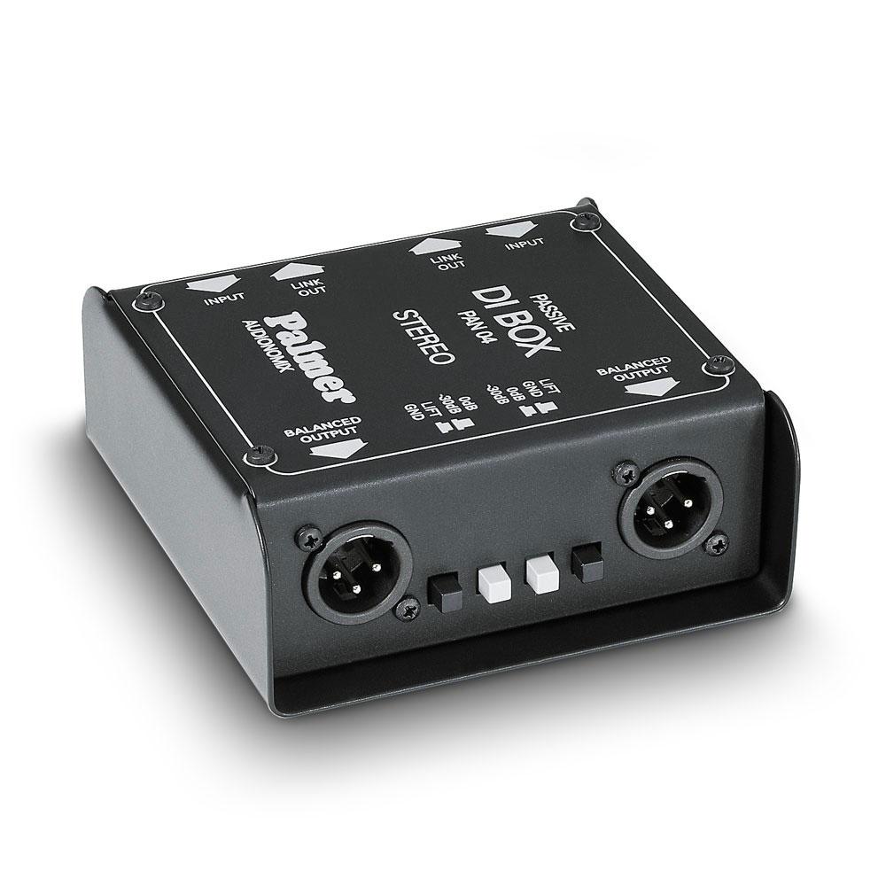 PALMER PAN04 Passive Stereo DI パッシブダイレクトボックス ステレオ仕様