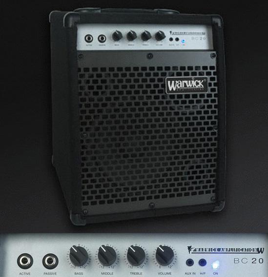 WARWICK BC20 ベースコンボアンプ