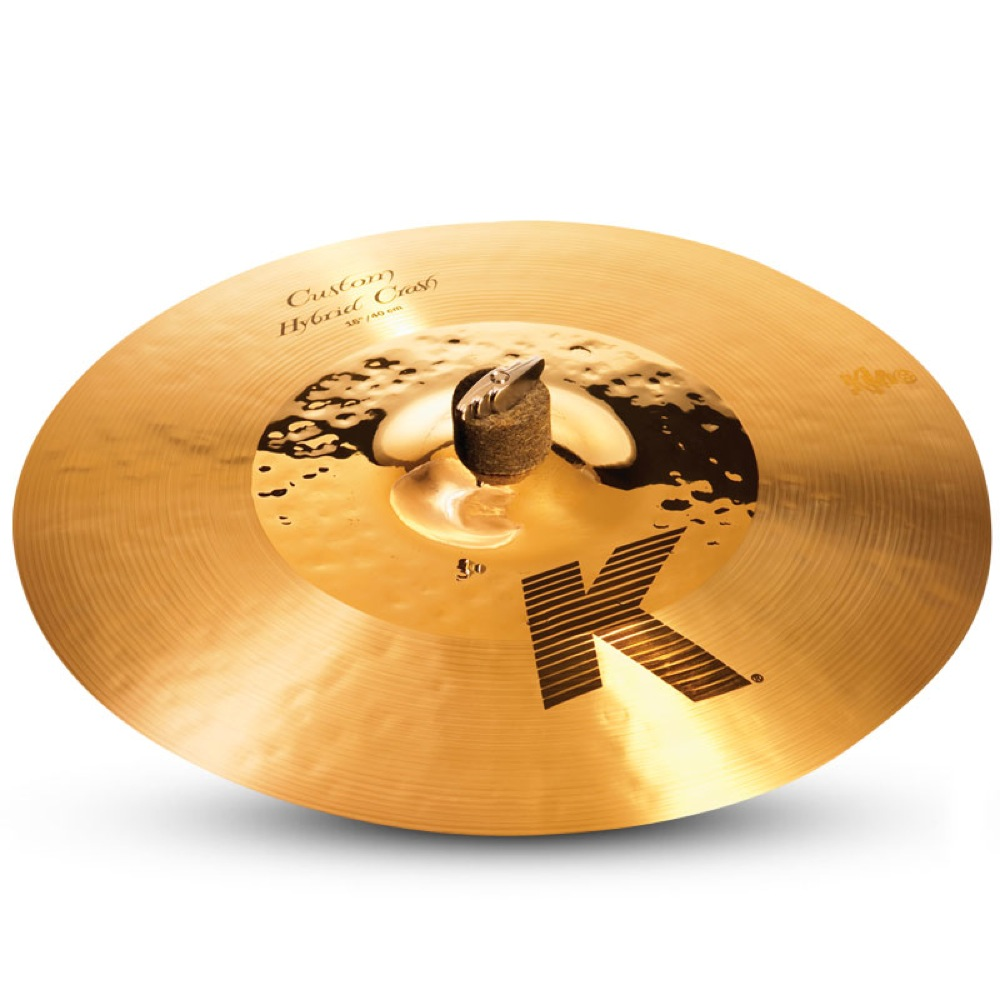 "ZILDJIAN K.Custom Hybrid Crash 16"" クラッシュシンバル"