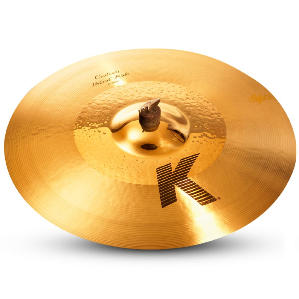"ZILDJIAN K.Custom Hybrid Ride 21"" ライドシンバル"