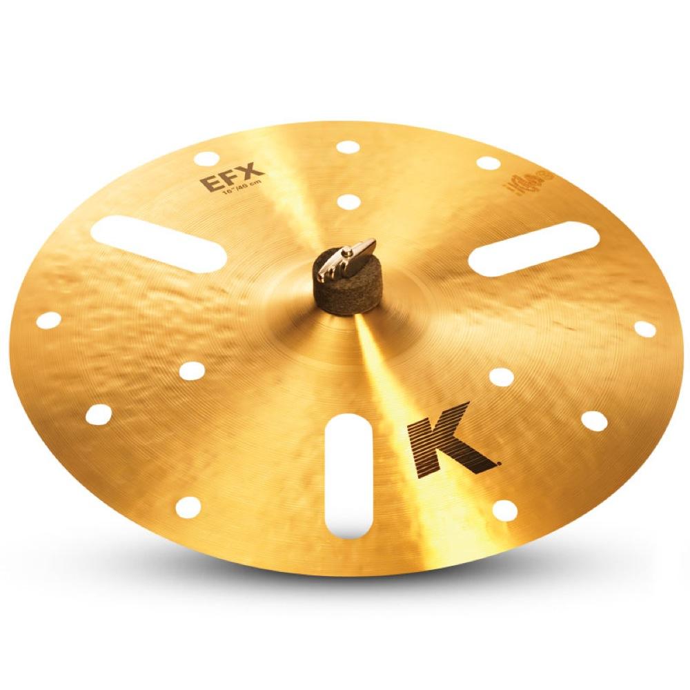 "ZILDJIAN K.Zildjian EFX 18"" 穴空きエフェクトシンバル"