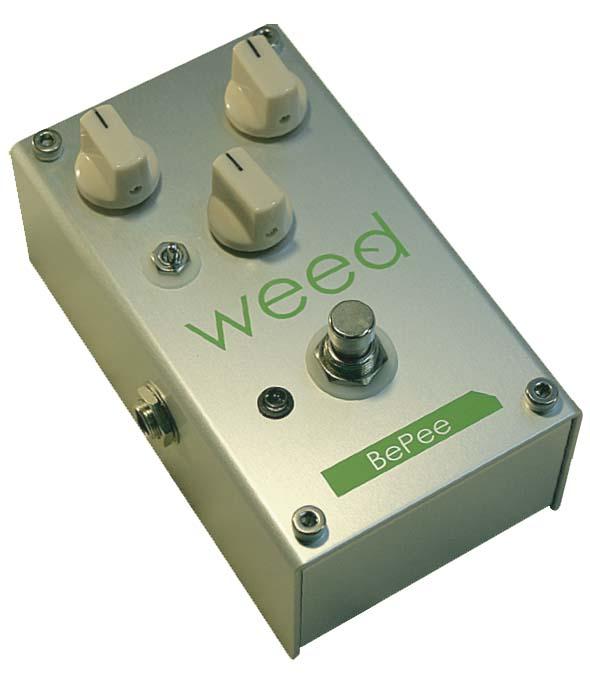 WEED BePee ベース用プリアンプ エフェクター