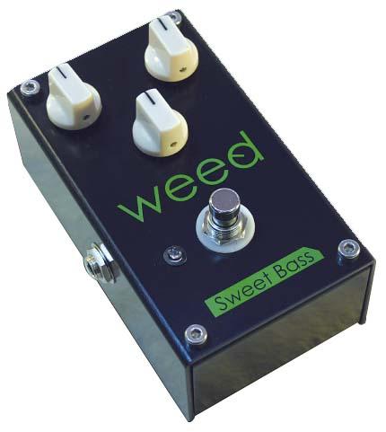 WEED Sweet Bass ベース用オーバードライブ エフェクター