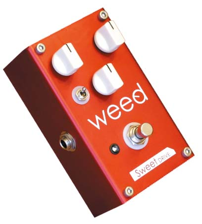 WEED Sweet DRIVE RED オーバードライブ エフェクター