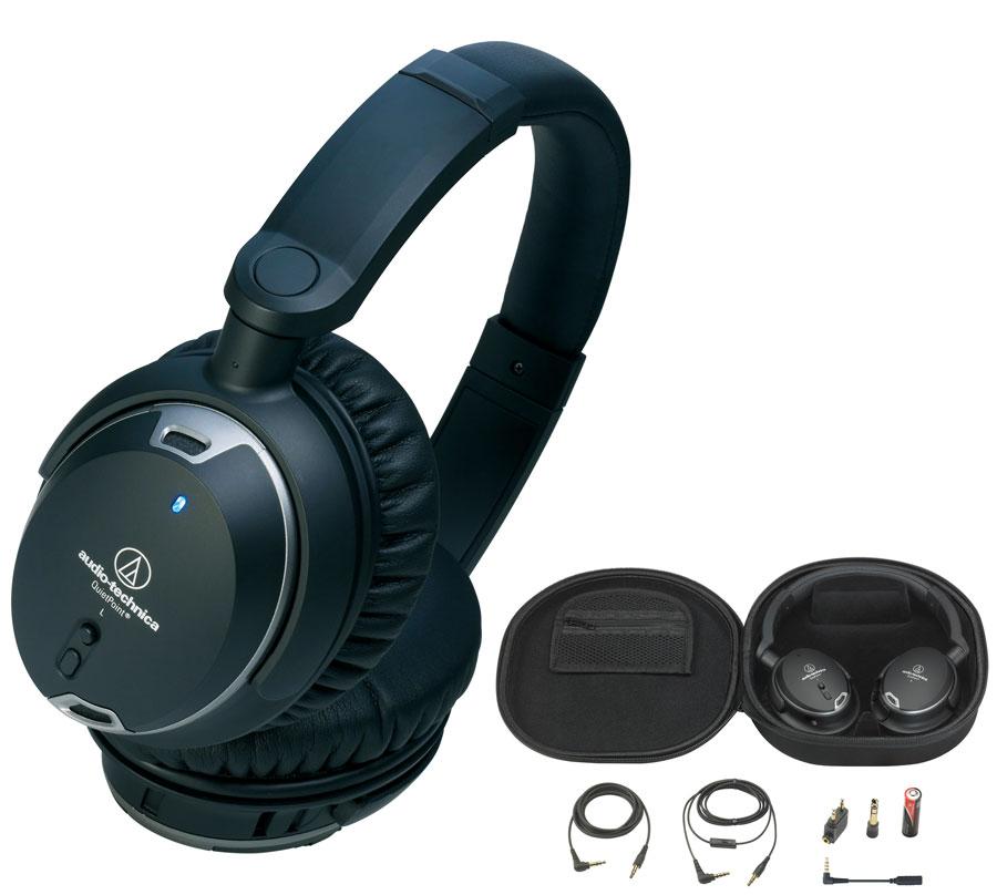 AUDIO-TECHNICA ATH-ANC9 IM アクティブノイズキャンセリングヘッドホン