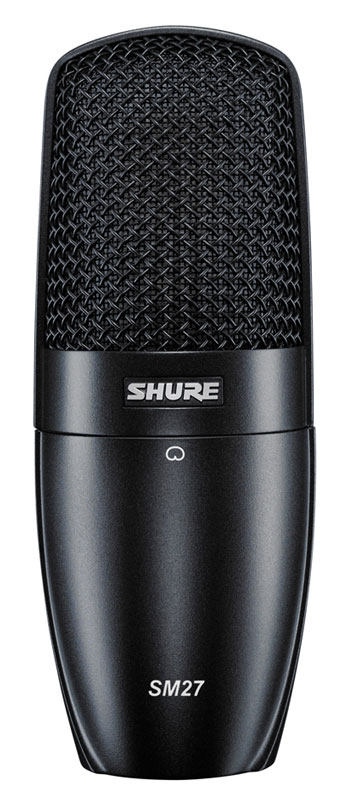 SHURE SM27-SC 多目的コンデンサー・マイクロホン