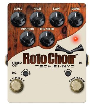 SANSAMP/Tech21 Roto Choir ロータリースピーカーシミュレーターエフェクター