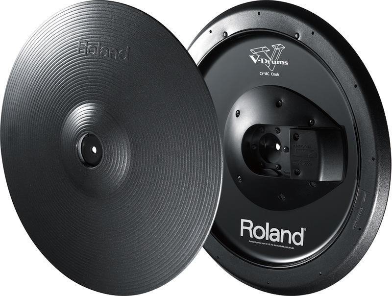 ROLAND CY-14C-MG V-Cymbal Crash Vドラムシンバル クラッシュ
