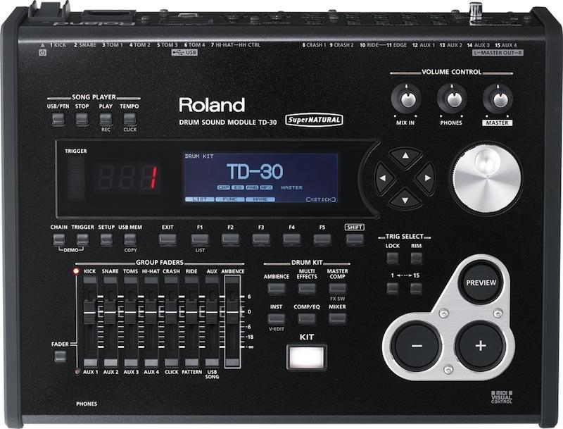 ROLAND TD-30 ドラムサウンドモジュール