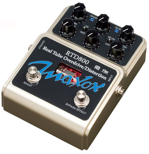 MAXON RTD800 Real Tube Overdrive/Distortion ディストーション エフェクター