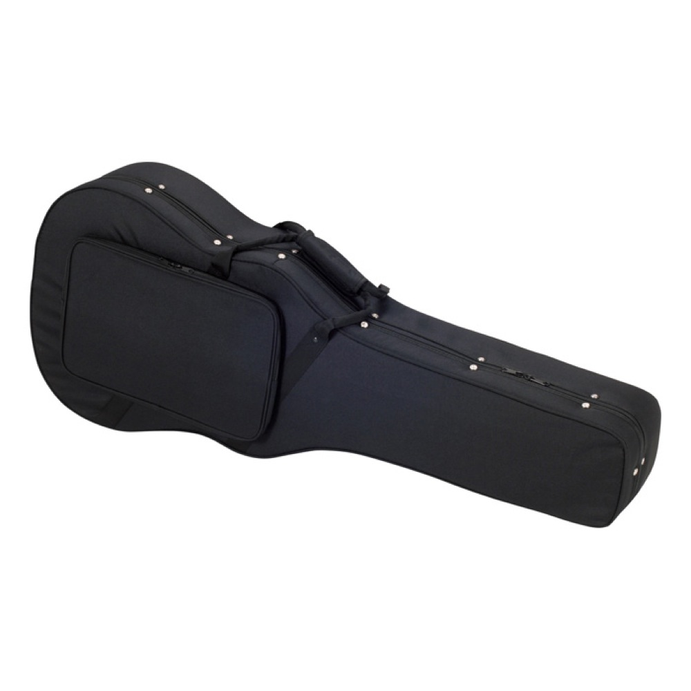 アコースティックギター用 希望者のみラッピング無料 ドレッドノートタイプ用 KC SDW-100 売買 アコギ用セミハードケース