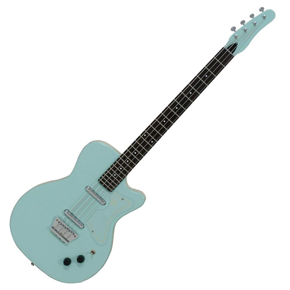 Danelectro 56 SINGLE CUTAWAY BASS AQUA エレキベース