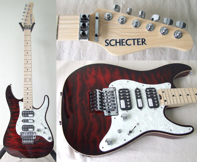 SCHECTER SD-DX-24-AS/M RDSB エレキギター