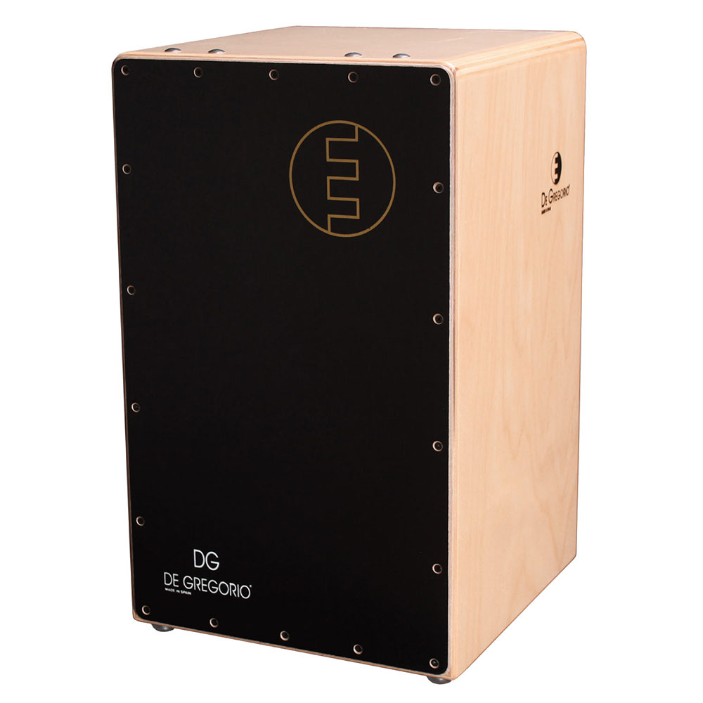 DG CAJON Chanela BLACK カホン