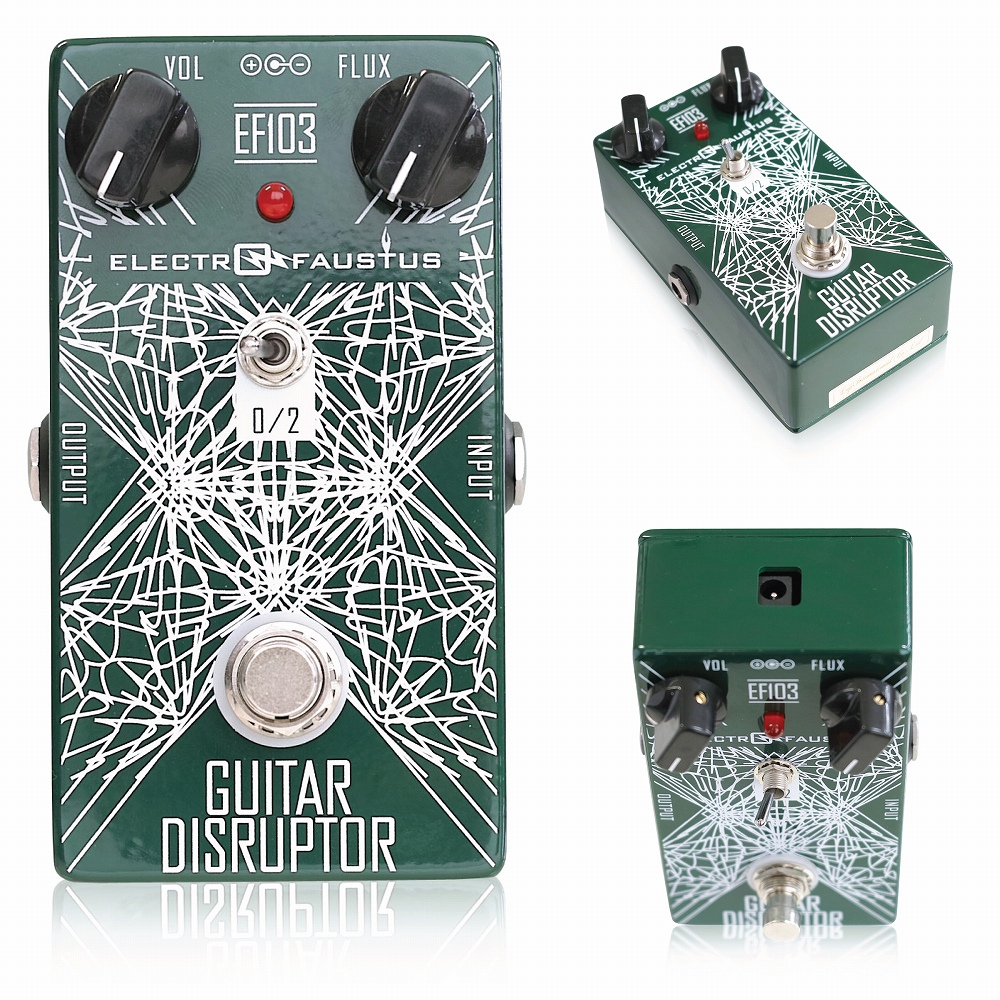 Electro-Faustus EF103 Guitar Disruptor V.2 ギターエフェクター