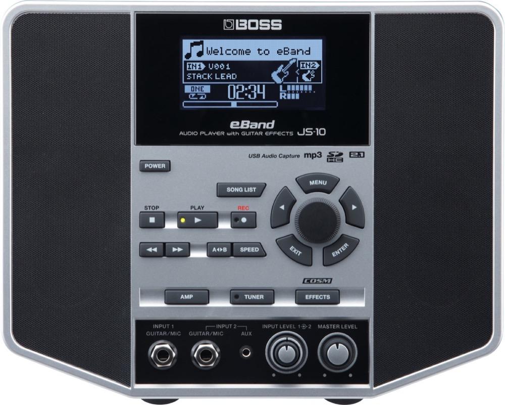 BOSS eBand JS-10 オーディオプレイヤー with ギターエフェクター