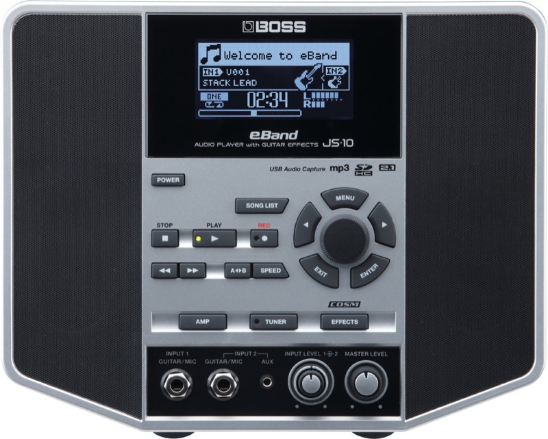 BOSS eBand JS-10 BOSS JS-10 オーディオプレイヤー with with ギターエフェクター, ふみや文具店:6ed3abc6 --- sunward.msk.ru