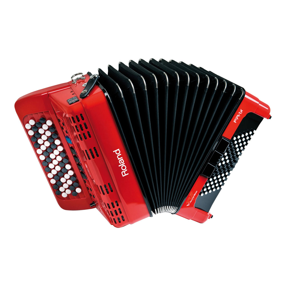 ROLAND FR-1Xb RD V-Accordion ボタン鍵盤タイプ