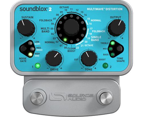 Source Audio Soundblox2 SA220 Multiwave Distortion ディストーション