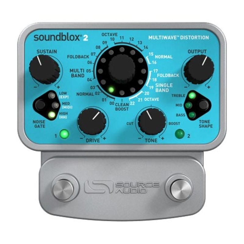 Source Audio Soundblox2 SA220 Multiwave Distortion ディストーション