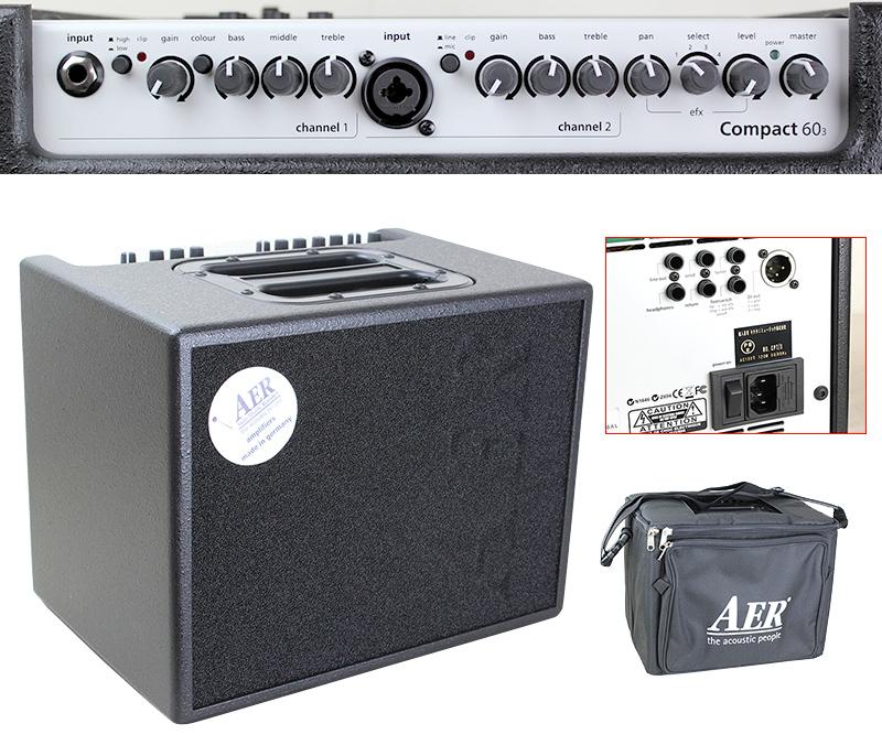 AER COMPACT60/3 アコースティックギター用アンプ