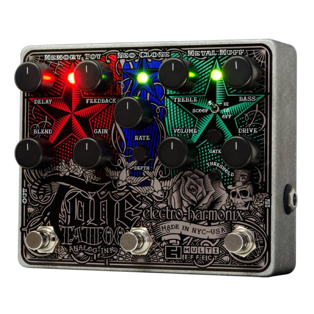 ELECTRO-HARMONIX Tone Tattoo ギターエフェクター